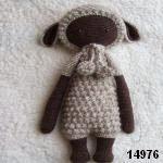 patron gratis muñeca cordero lalylala amigurumi, free pattern amigurumi lalylala lamb doll