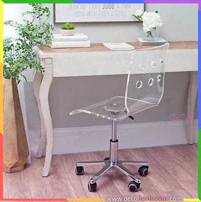 كرسي مئي مخصص لمكتب غرف النوم الضيقة