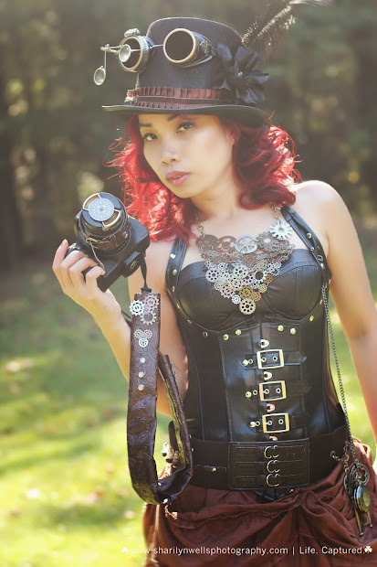 Sharilyn Wells Steampunk Love Concept