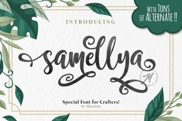 Samellya Font