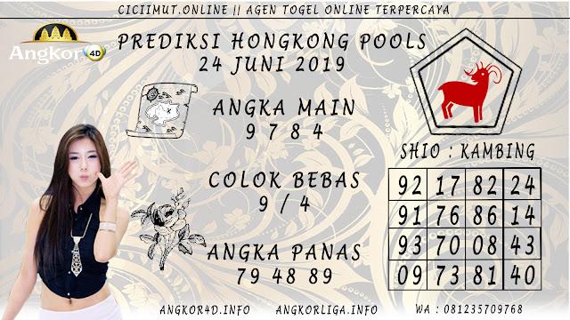 PREDIKSI HONGKONG POOLS 24 JUNI 2019