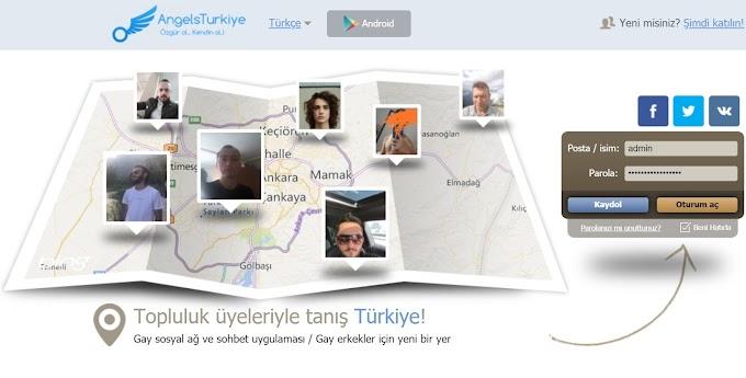Gay sohbet AngelsTurkiye