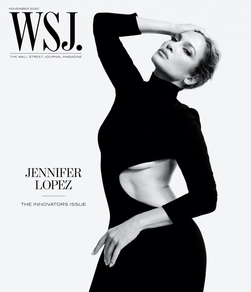 Jennifer Lopez on WSJ. Magazine November 2020 Cover.