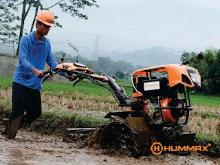 Alat Pertanian Cultivator Hummax Megator