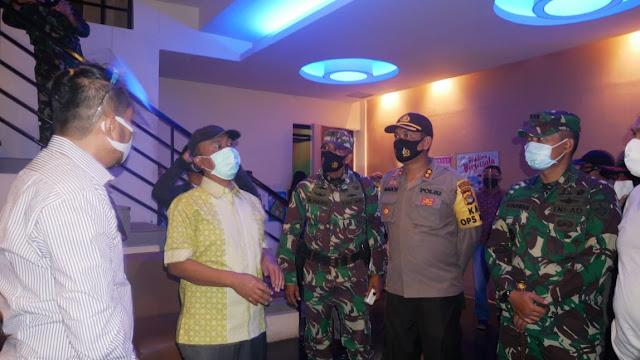 Bupati Lombok Barat bersama TNI dan