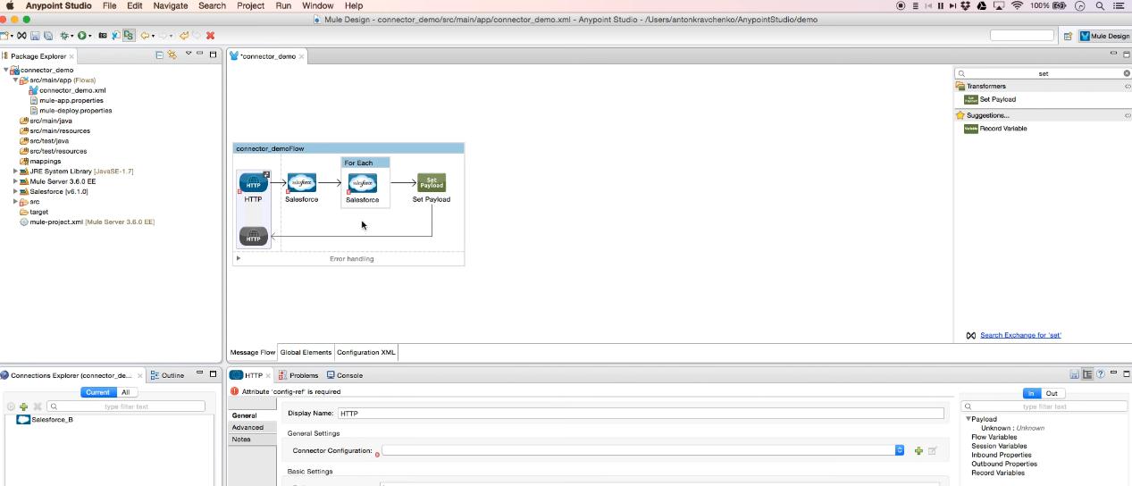 Salesforce to Salesforce Integration using MuleSoft