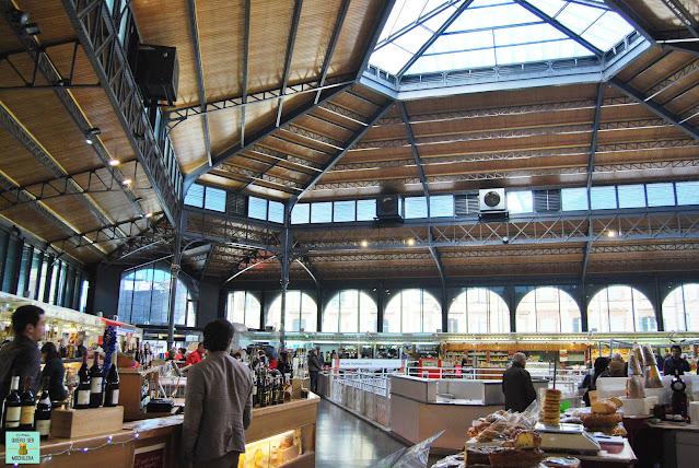 Mercado cubierto de Albi, Francia