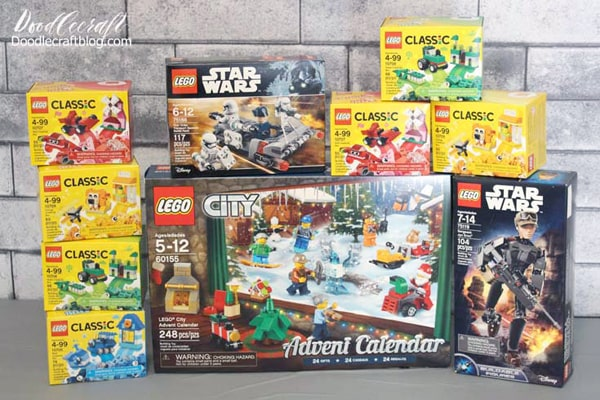 Awesome Lego sets, perfect for a lego birthday party