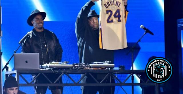 Rev Run diz que Run-DMC iniciou um álbum colaborativo com Kobe Bryant