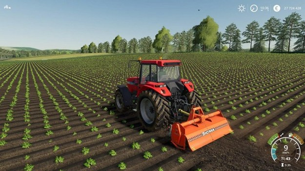 Listen to the new sound of the tractor in Farming Simulator 22