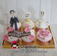 Cupcake Hantaran Lamaran - WIll You Marry Me?