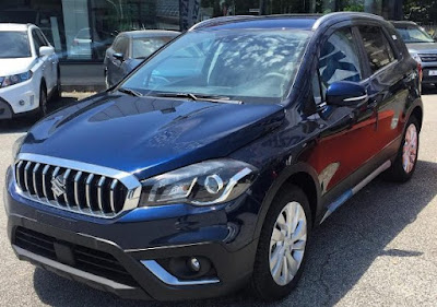 2017 Suzuki S-Cross Facelift Front-view-Hd-Images
