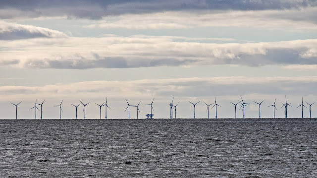 Photo of Robin Rigg Wind Farm in the Solway Firth
