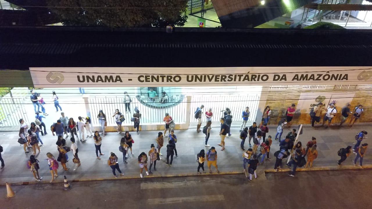 Alunos criticam aulas online da Unama, e pedem a suspensão do calendário acadêmico