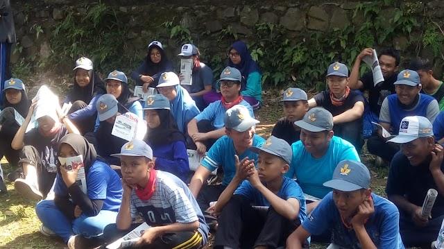 Siswa SMK Gama Caraka Ikuti Pelatihan Pembentukan Karakter dan Kedisiplinan