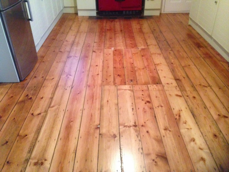 Pine Floor Sanded And Lacquered In Cottenham Cambridge