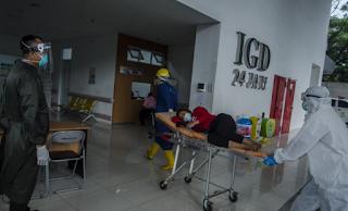 Situasi terkini di Bandung, rumah sakit Bandung sudah 92 % penuh dengan kasus covid-19. Keterisian tempat tidur atau disebut juga Bed Occupancy Rate (BOR) di ruang isolasi bagi pasien Covid-19 di berbagai rumah sakit di Kota Bandung terus meningkat setiap harinya.