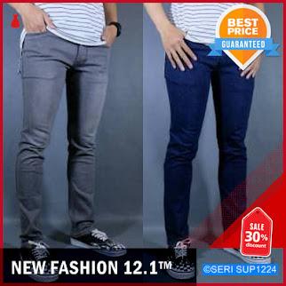 SUP1224C13 Celana Pensil Skinny Slimfit Cowok Pria BMGShop