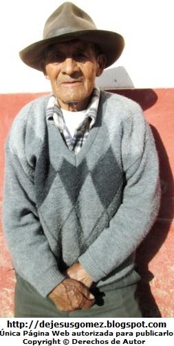 Foto de hombre anciano con sombrero de Jesus Gómez