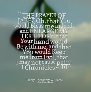 prayer of Jabez score sheet in tonic solfa