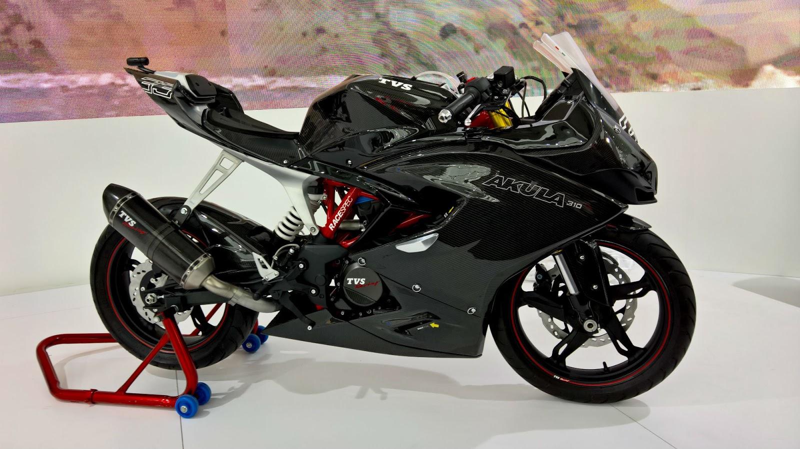 TVS Akula 310 Racing Concept