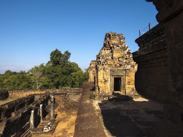 Pre Rip temple at Angkor in Cambodia