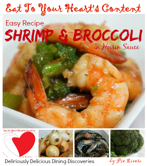 Shrimp and Broccoli in Hoisin Sauce
