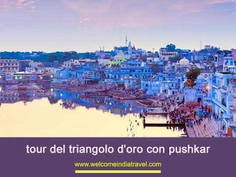 Tour Triangolo d'oro con Pushkar