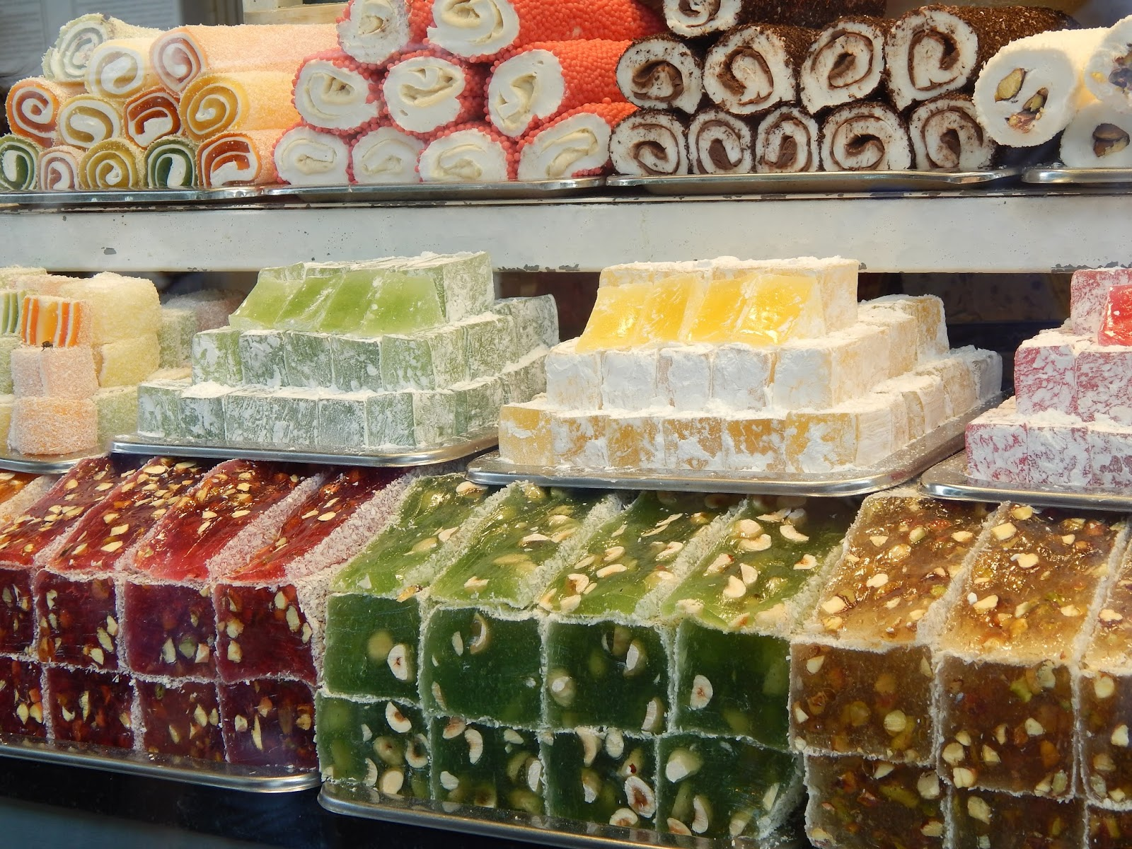 Turecké sladkosti
