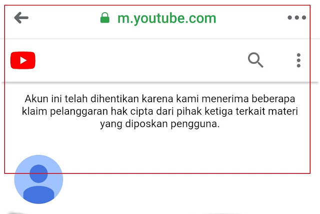 Calon sarjana dibanned youtube