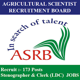 Agricultural Scientists Recruitment Board, ASRB, ASRB Admit Card, Admit Card, asrb logo