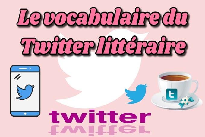 Le vocabulaire du Twitter littéraire