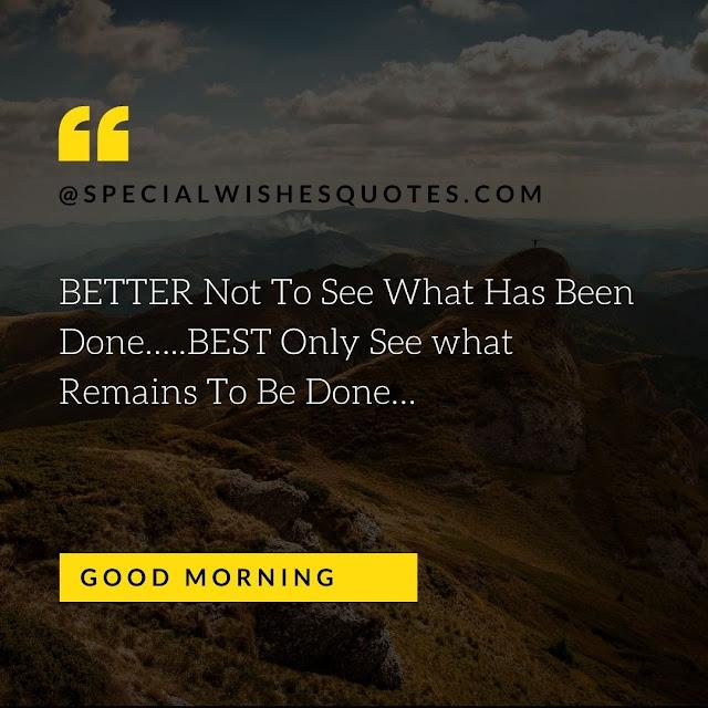 Whatsapp good morning message