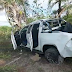 Mulher é presa suspeita de matar vizinha em Monte Santo após discussão por som alto; ela tentou fugir, mas carro capotou