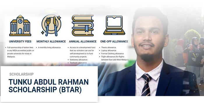 Permohonan Biasiswa Tunku Abdul Rahman Online