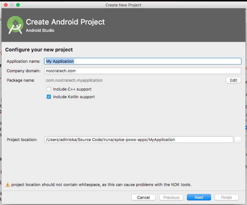 Nostra Technology: Kotlin on Android Studio