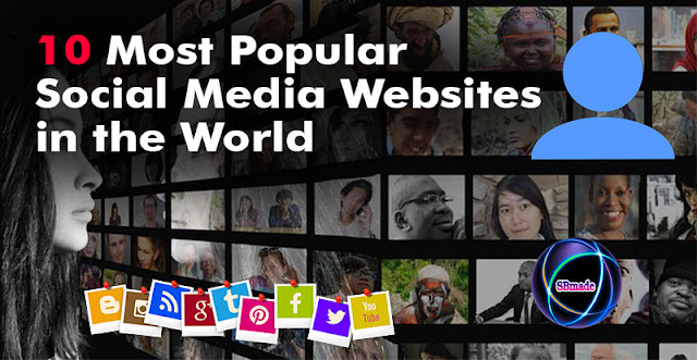 10 Most Popular Social Media Websites in the World