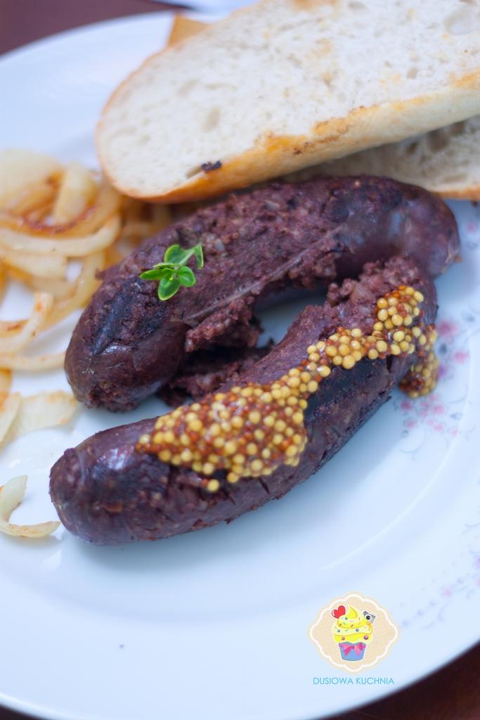 kaszanka, grill