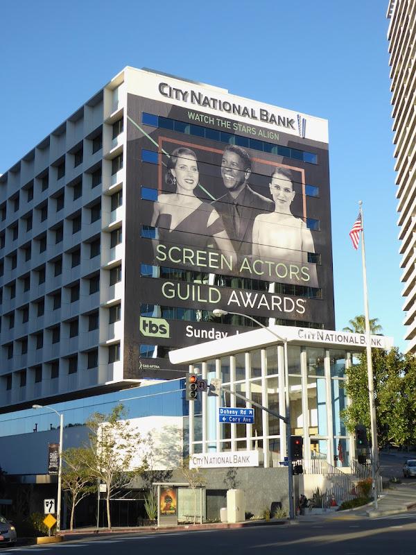 Screen Actors Guild Awards 2017 billboard