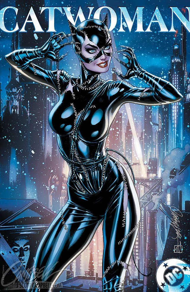 Catwoman de Batman Return según J. Scott Campbell