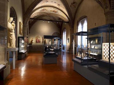 Bargello Museum room of the ivories