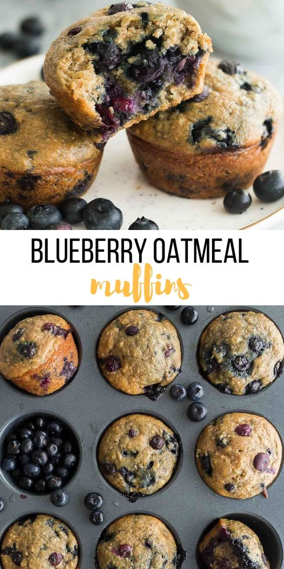 HEALTHY BLUEBERRY OATMEAL MUFFINS #recipes #healthybreakfast #breakfastrecipes #healthybreakfastrecipes #food #foodporn #healthy #yummy #instafood #foodie #delicious #dinner #breakfast #dessert #lunch #vegan #cake #eatclean #homemade #diet #healthyfood #cleaneating #foodstagram