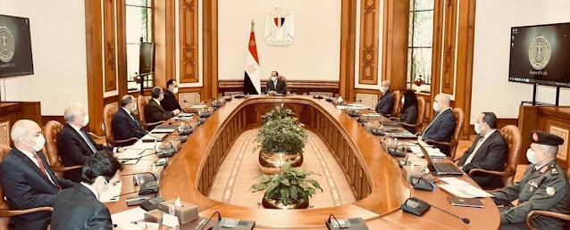 الرئيس السيسي يطلع علي الضوابط والأشتراطات الجديدة لمنظومة  البناء في مصر