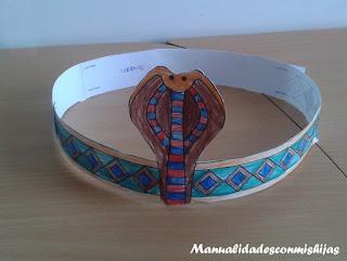 tirara-corona-egipcia-cobra-molde