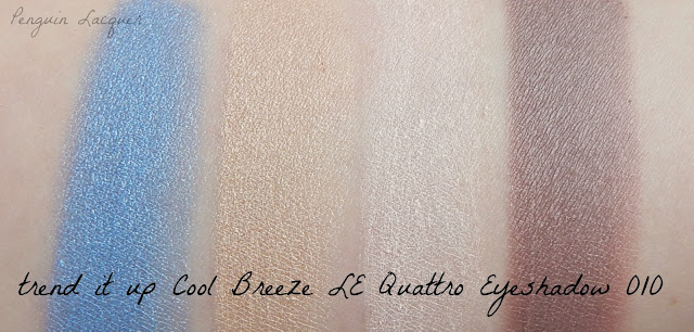trend it up cool breze quattro eyeshadow 010 swatches
