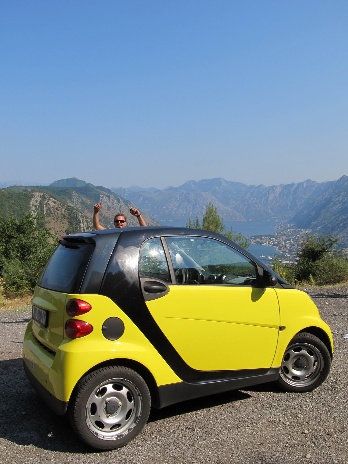 On the road: Montenegro and Albania