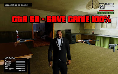 GTA SA - Save Game 100%