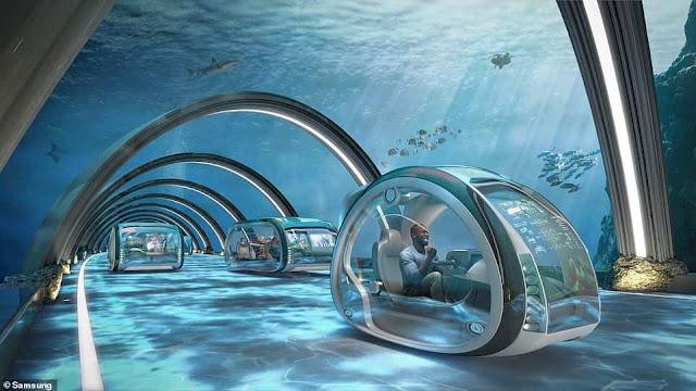 Tương lai 50 năm tới, con người sẽ sống dưới các đại dương và du lịch không gian