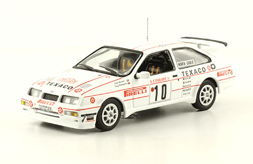 collezione rally monte carlo Ford Sierra RS Cosworth 1987 Kalle Grundel - Terry Harryman