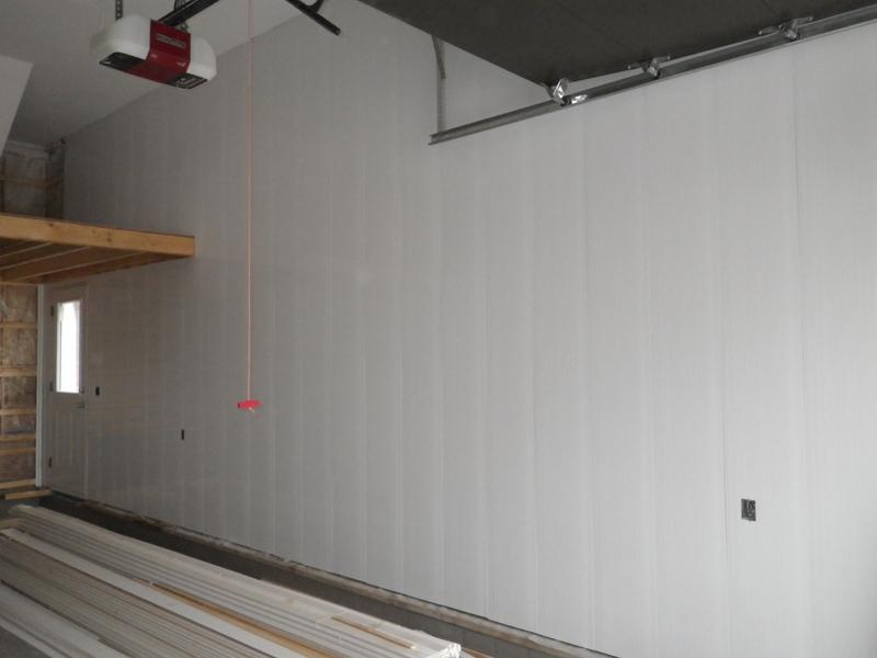 jour 102 de travail rev tement int rieur du garage. Black Bedroom Furniture Sets. Home Design Ideas